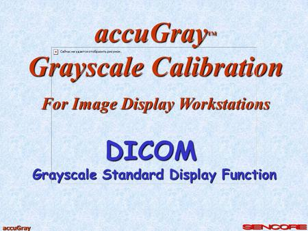 Grayscale Calibration Grayscale Standard Display Function