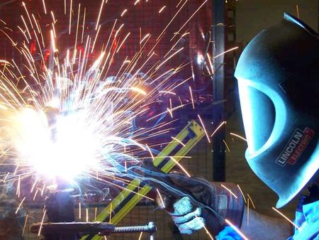Arc Welding Mr. Lombardi Arc Welding ► ► Arc welding uses a power supply to create an electric arc between an electrode and the base material. ► ► The.