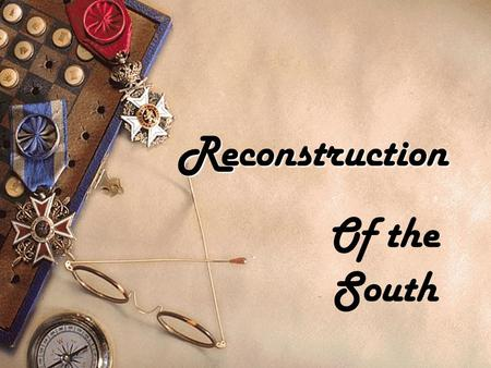Reconstruction Of the South. Lincoln's Plan  Pardon and grant amnesty  When 10% of the 1860 voters took an oath and agree to abide by the government.