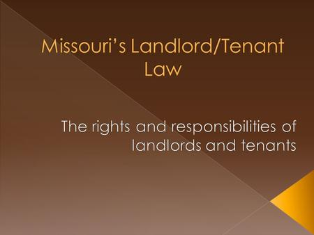 Landlord-tenant disputes are a common occurrence in the renting process. Some of these disputes could be avoided if landlords and tenants were aware of.