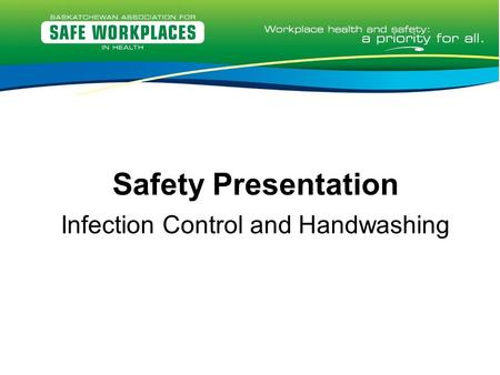 Infection Control and Handwashing