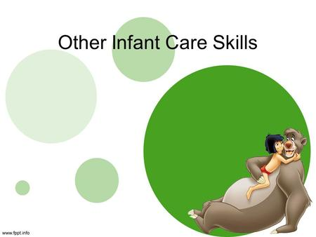 Other Infant Care Skills