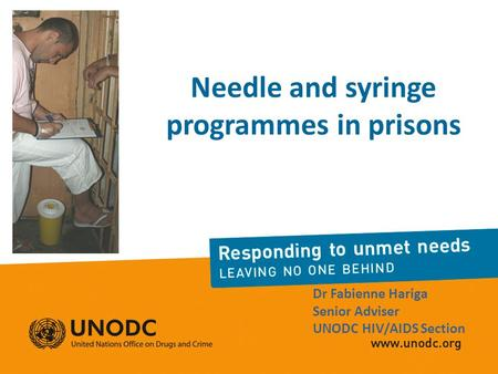 Needle and syringe programmes in prisons