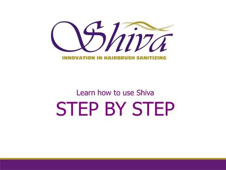 Learn how to use Shiva STEP BY STEP. Step_1 HOW TO INSTALL THE APPLIANCE YOU CAN LEAVE IT ON A COUNTER OR ON STANDS.