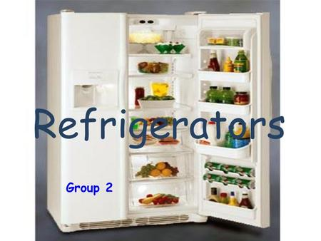 Refrigerators Group 2. Who is the inventor of the refrigerators ?