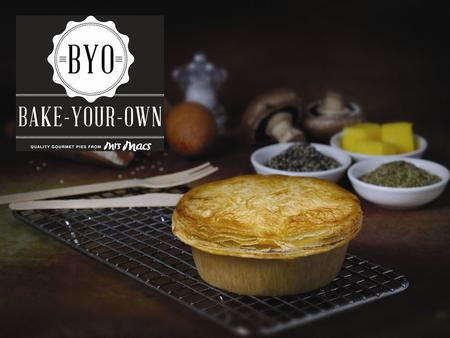 Mrs Mac's Bake-Your-Own Gourmet Range