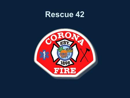 Rescue 42. Objectives To provide an understanding of the following –Specifications –Use –Maintenance –Safety.