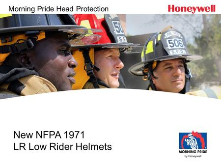 New NFPA 1971 LR Low Rider Helmets Morning Pride Head Protection.