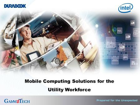 Mobile Computing Solutions for the Utility Workforce.