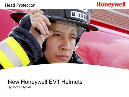 New Honeywell EV1 Helmets