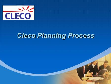 Company LOGO Cleco Planning Process. Models Cleco uses SPP's annual series of models to determine the NERC reliability violations. Cleco uses SPP or VST.