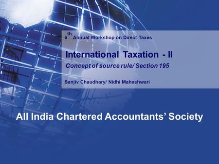 All India Chartered Accountants' Society