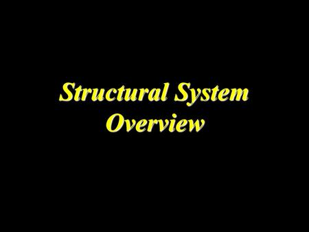 Structural System Overview. 2 Buildings' Elements Roof Beam(RB) Beam(B) Ground Beam(GB) Column(C) Slab(S) Footing(F)