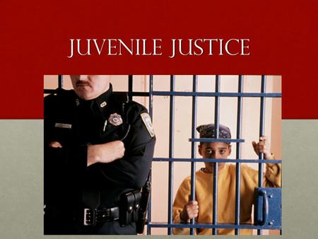 Juvenile Justice. Objectives Students will be able to Identify the main ideas, including the author's main argument/claim within a text Identify the main.