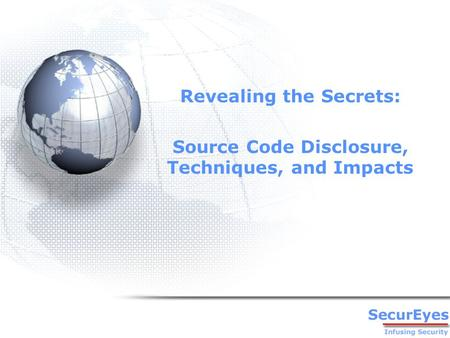 Revealing the Secrets: Source Code Disclosure, Techniques, and Impacts.