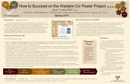Introduction (heading 16 pt; text in 12 pt) This poster describes the Research & Analysis Poster Project in Western Civ. This template is meant to provide.