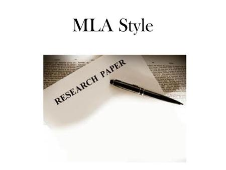 MLA Style. What is a citation style? When writing research papers, there are rules to follow for documenting where you found your information and rules.