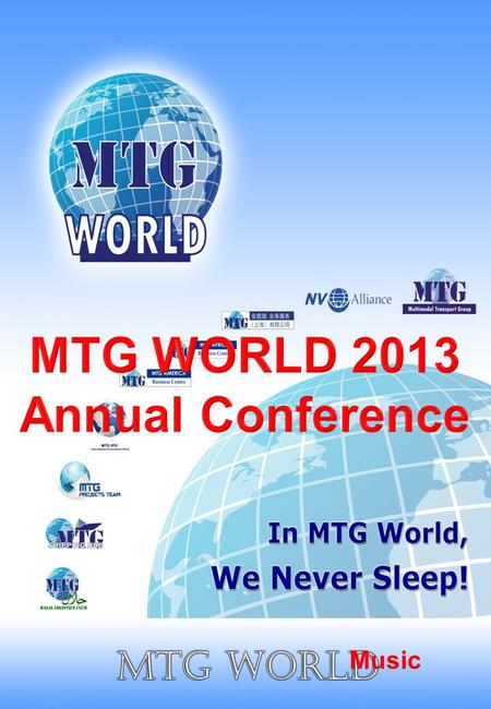 Music MTG President Presentation Conference Day 1.