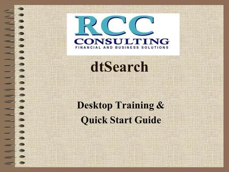 Desktop Training & Quick Start Guide