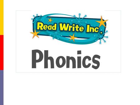 "Why synthetic phonics? ""Synthetic phonics offers the vast majority of young children the best and most direct route to becoming skilled readers and writers"""