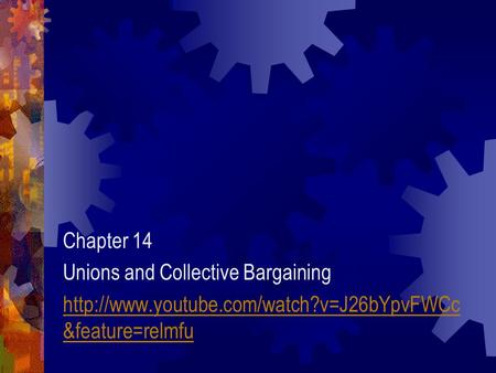 rose 2004 employment relationship and collective bargaining