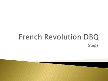 dbq french revolution Dbq question how were the ideals of the french revolution, liberte, egalite, and fraternite a reflection of the political, social, and economic breakdown of.
