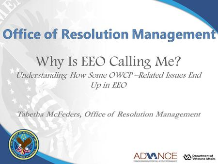 Office of Resolution Management