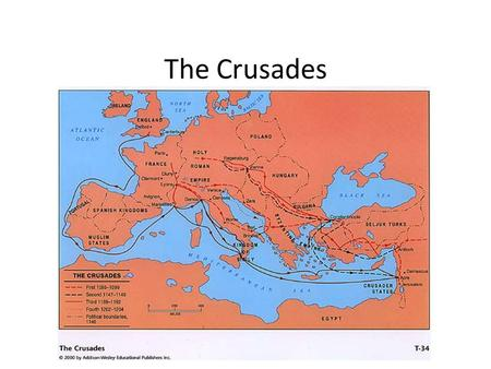 The Crusades. Objectives To understand the causes of the 1 st and 2 nd Crusade. Summarize the results of the 1 st and 2 nd Crusade. Describe major events.