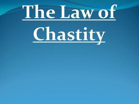 The Law of Chastity. THE BISMARCK On February 14, 1939, amid fervent speeches, cheering throngs, and the playing of the national anthem, the Germans unleashed.