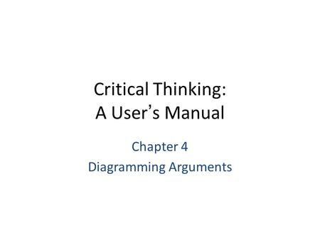 writing arguments chapter 14-12c