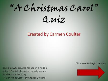 A Christmas Carol Questions and Answers - eNotes.com