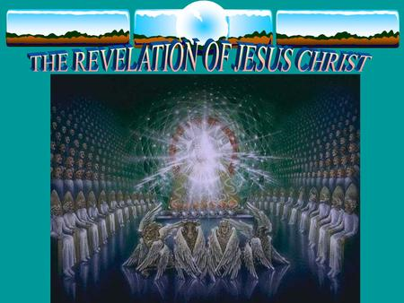 "REVELATION – CHAPTER 5:1-14 Chapter 4 review: The Throne Room 24 Elders 4 Living Creatures - Cherubim THE THRONE ROOM of HEAVEN! JOHN WRITES: - ""Then."