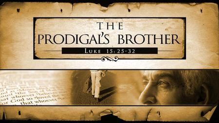 "Introduction The Parable of the Prodigal Son: – Many Christians are familiar with the ""prodigal son"" and his life in the parable. – All know the lesson."
