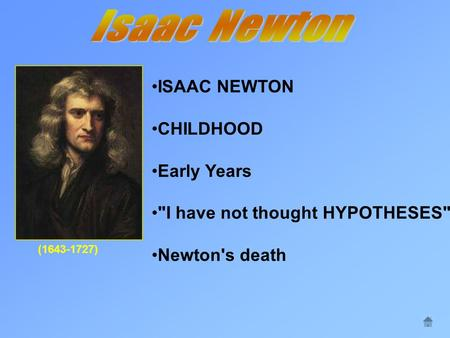 Isaac Newton Essay