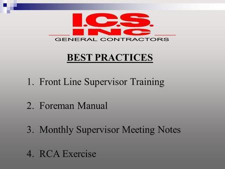 What do the Best Supervisors Do?