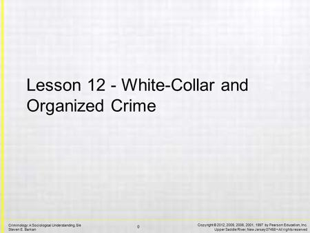 the advancements in the age of white collar crime This chapter provides an argument whereby the agenda of white collar crime research can be developed by a synthesis of integrated and biosocial factors the social sciences have long been interested in the ways that an individual's demographic characteristics such as race, gender and age shape behavior in applied.