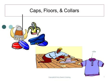 Caps, Floors, & Collars Copyright 2014 by Diane S. Docking 1 collar.
