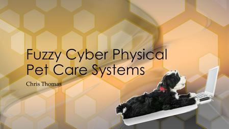 Chris Thomas Fuzzy Cyber Physical Pet Care Systems.
