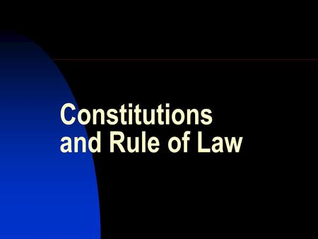 Constitutions and Rule of Law. Toronto Mayor Ford sacked for conflict of interest:  nto/ID/2309849453/
