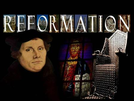 Thursday, 1/10/13 THIS DAY IN HISTORY Radical Reformers As the Reformation continued, hundreds of new Protestant sects sprang up. These sects often had.