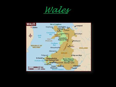 Wales. Cardiff Wales  Population : 2 958 600 inhabitants  Languages : English and Welsh  Religions : Christianity  Currency : Pound sterling (1euro.