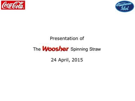 Presentation of The Spinning Straw 24 April, 2015.