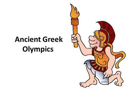 Ancient Greek Olympics. The first Olympics games are usually given the start year of 776 BCE, but they probably began even sooner. The ancient Greeks.