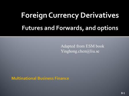 Fx currency options