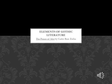 Elements of Gothic Literature