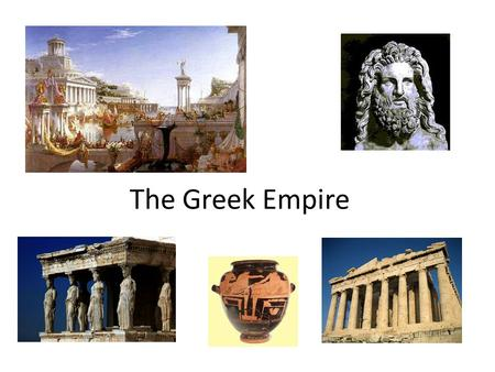 The Greek Empire. Daniel's Dream of The Goat Prophecy: A future Greek leader will advance rapidly from the west. And as I was considering, suddenly.
