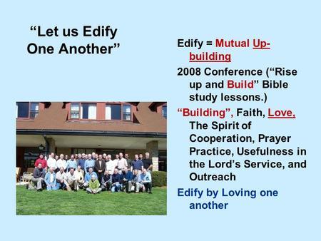Edify | CARM.org