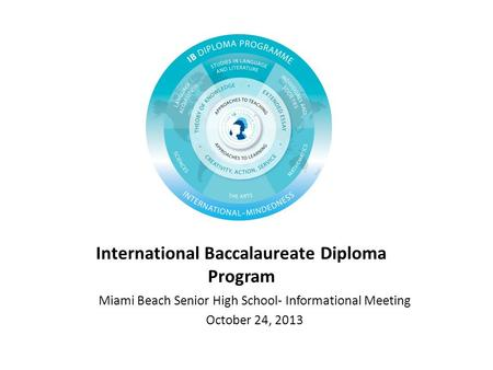 International Baccalaureate Diploma Program