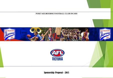 Overview * Victorian Football League (AFL Victoria)