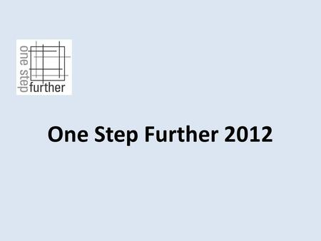 One Step Further 2012. BLACK SNOW by Marie Koivisto Tampere Finland.